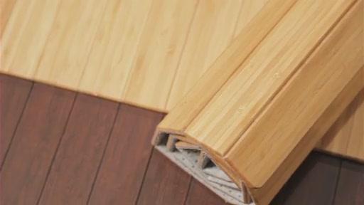 & 11237428 Anji Mountain Bamboo Office Chair Mats - Video Gallery