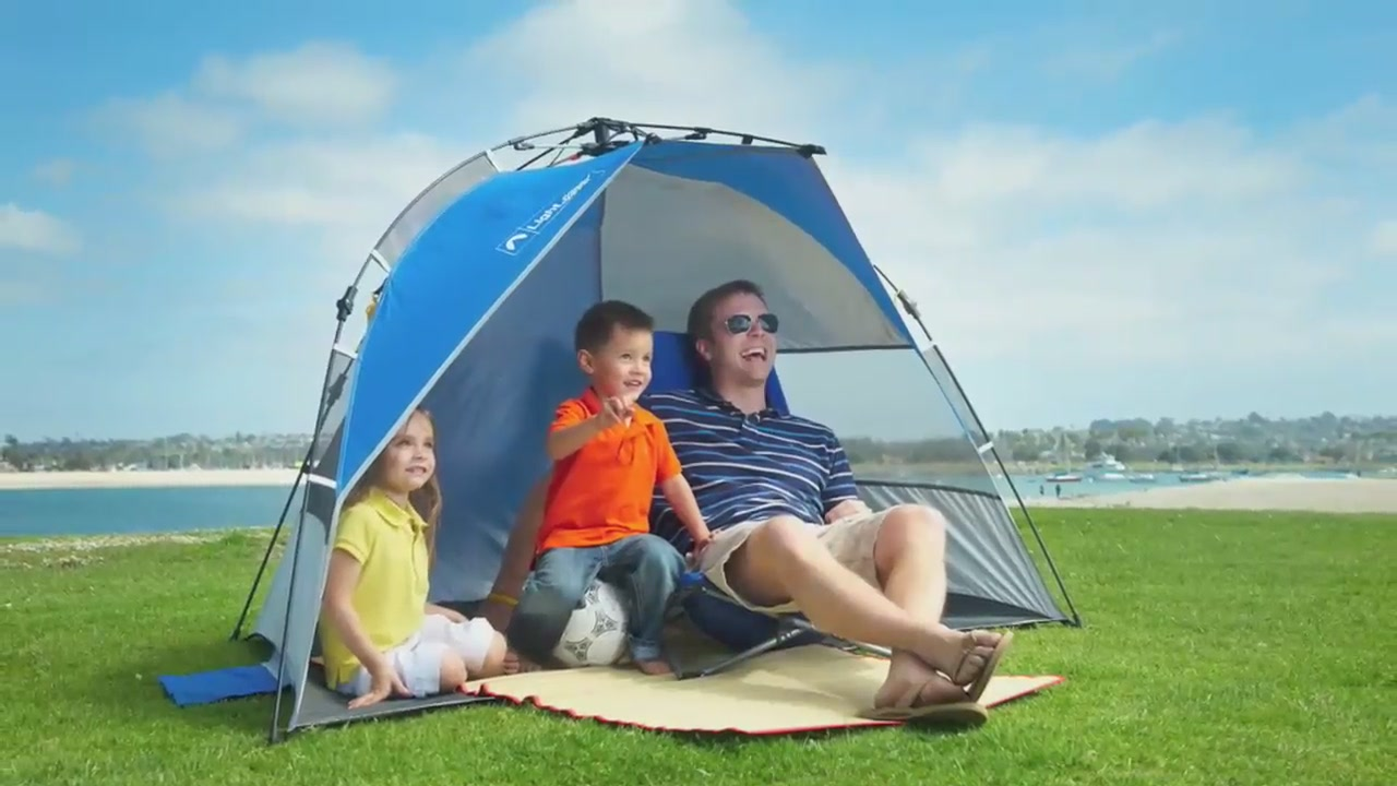 sc 1 st  Costco Wholesale & Lightspeed® Quick Draw Sun Shelter - Video Gallery