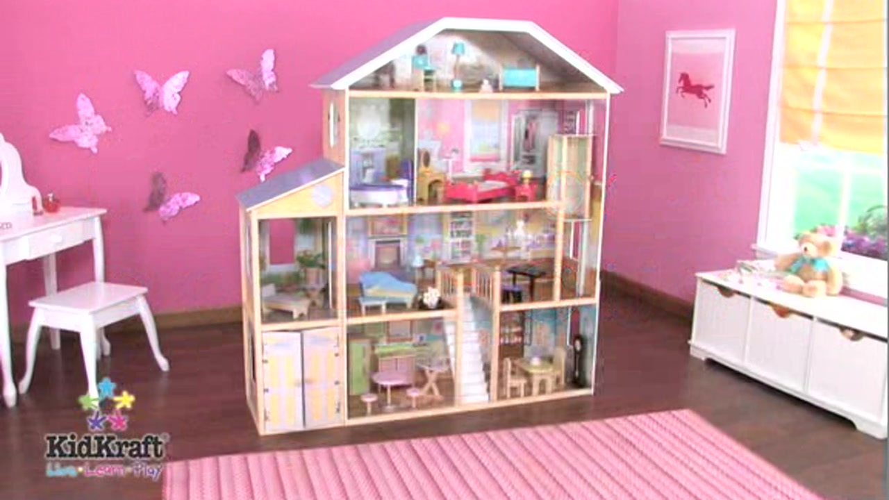 Majestic Mansion raquo KidKraft Toys Video Gallery