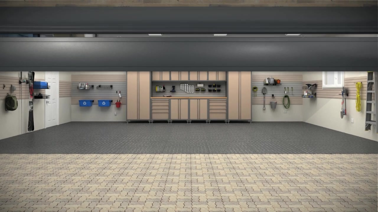 & NewAge Products Metal Garage Cabinetry u0026raquo; Storage - Video Gallery