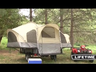 & Lifetime® Camping Tent Trailer - Video Gallery