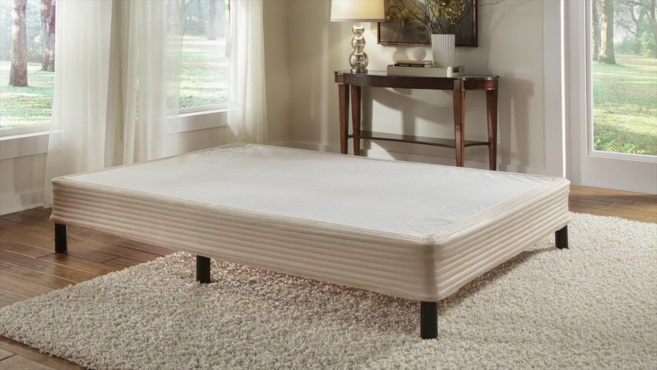 sleep science complete folding mattress foundation - video gallery