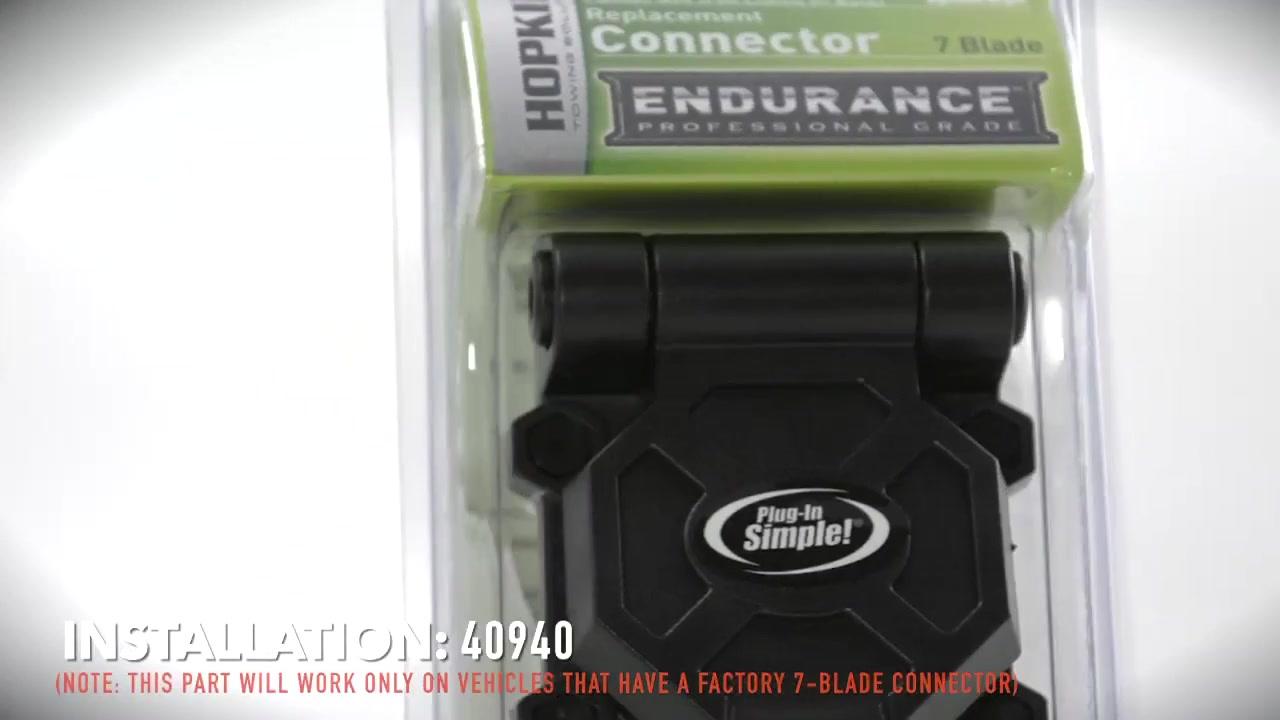 Hopkinsinstallation Of Trailer Connector (40940) » Video  O'reilly Auto  Parts
