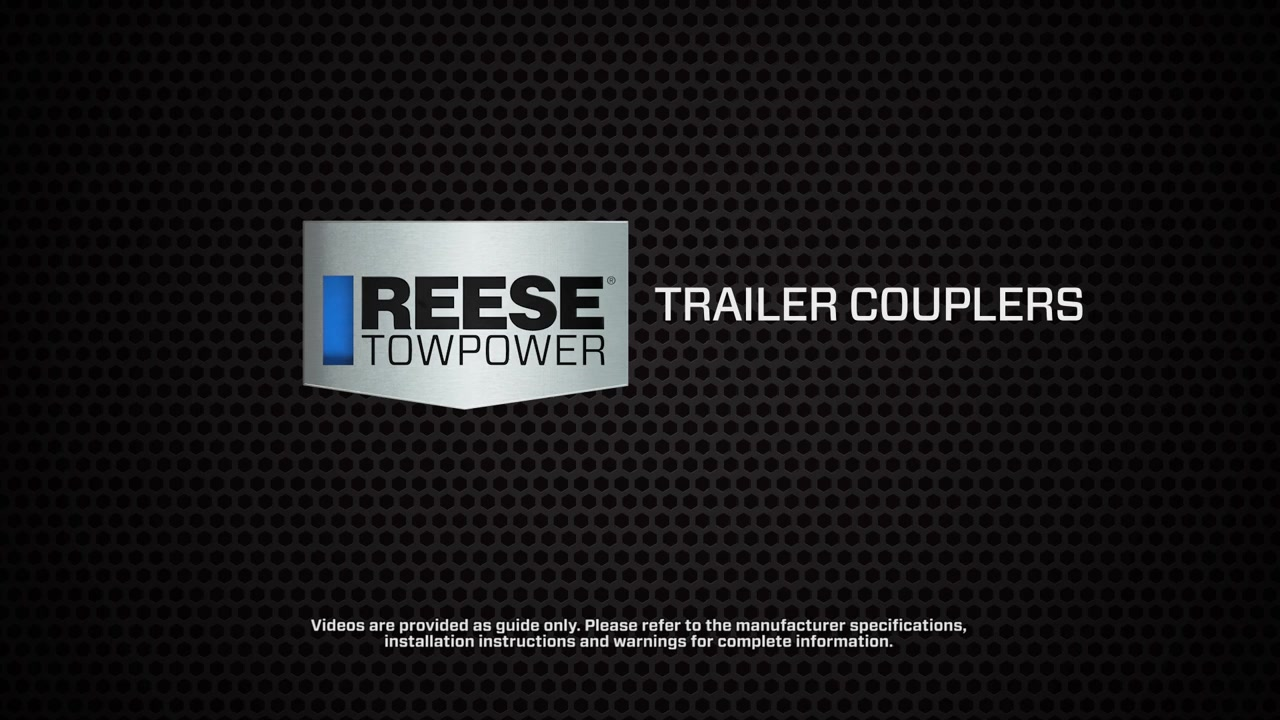 Reese� Towpower Trailer Couplers » Reese Towpower » Video  O'reilly Auto  Parts